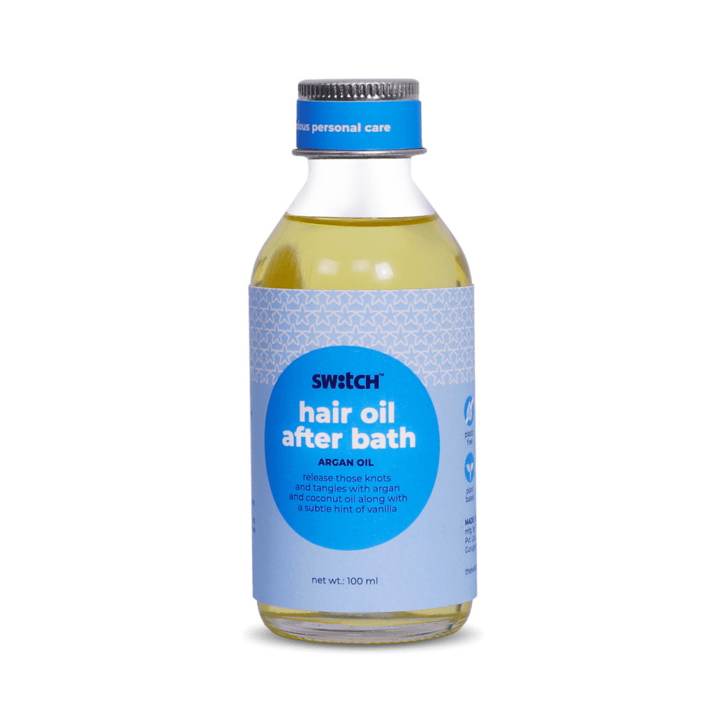 Hero Image- After Bath- Natural Hair Oil by The Switch Fix