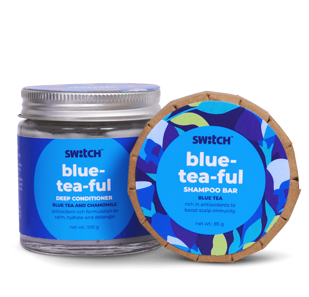 Blue-Tea-Ful Haircare Combo Hero Image