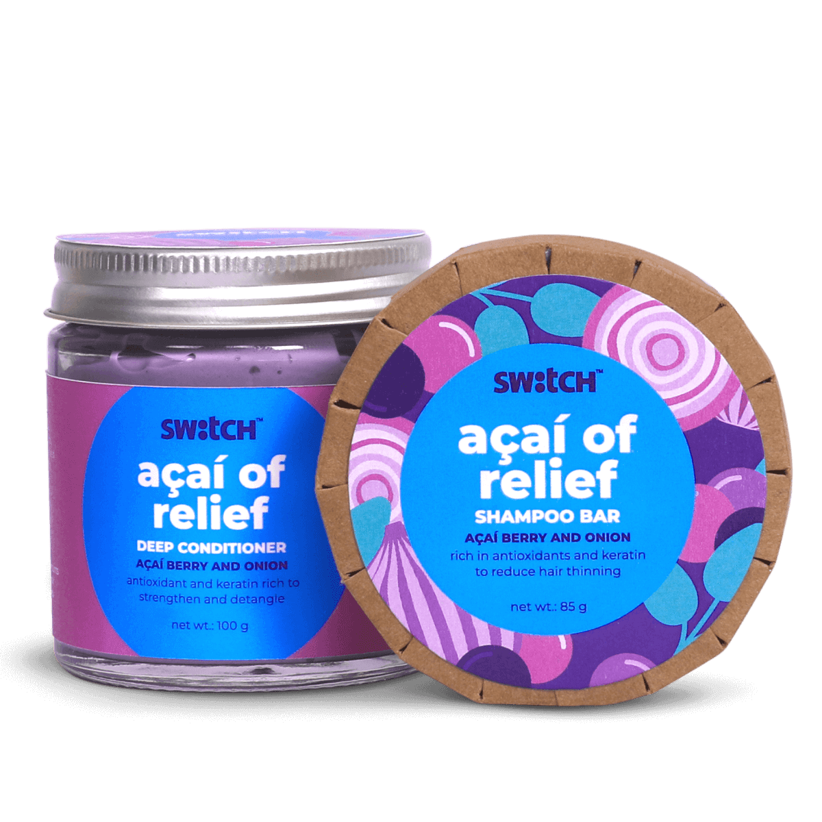Acai Of Relief Haircare Combo Hero Image